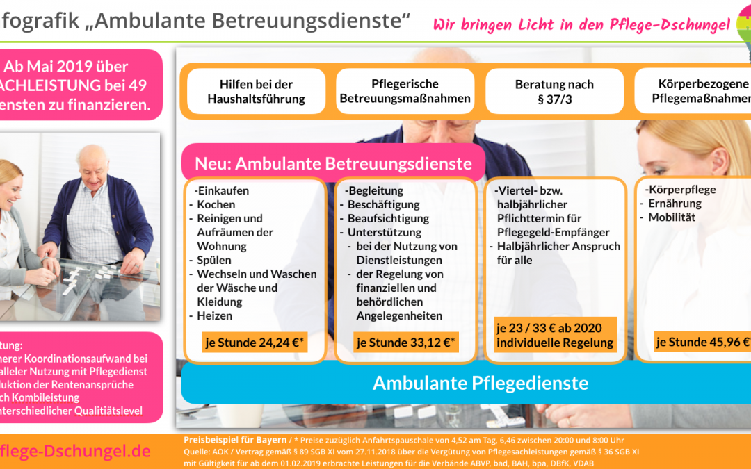 Infografik – Ambulante Betreuungsdienste
