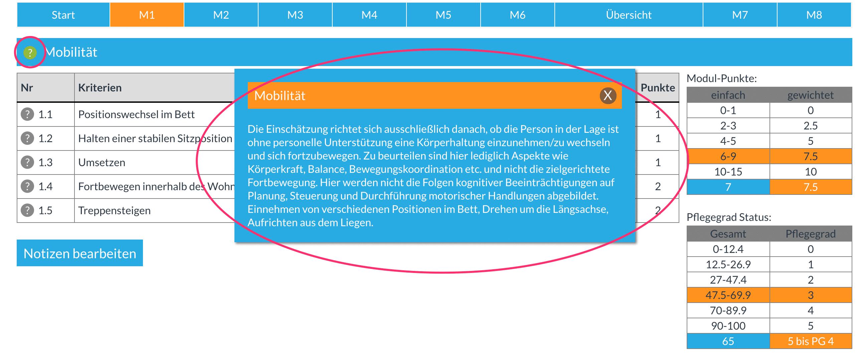 Modul-Infos
