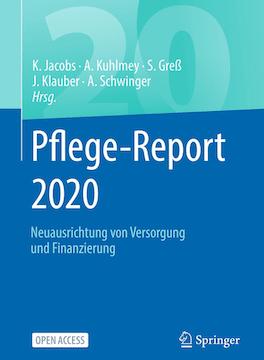 Hier geht es zur Studie der Pflege-Report 2020 WIdO der AOK