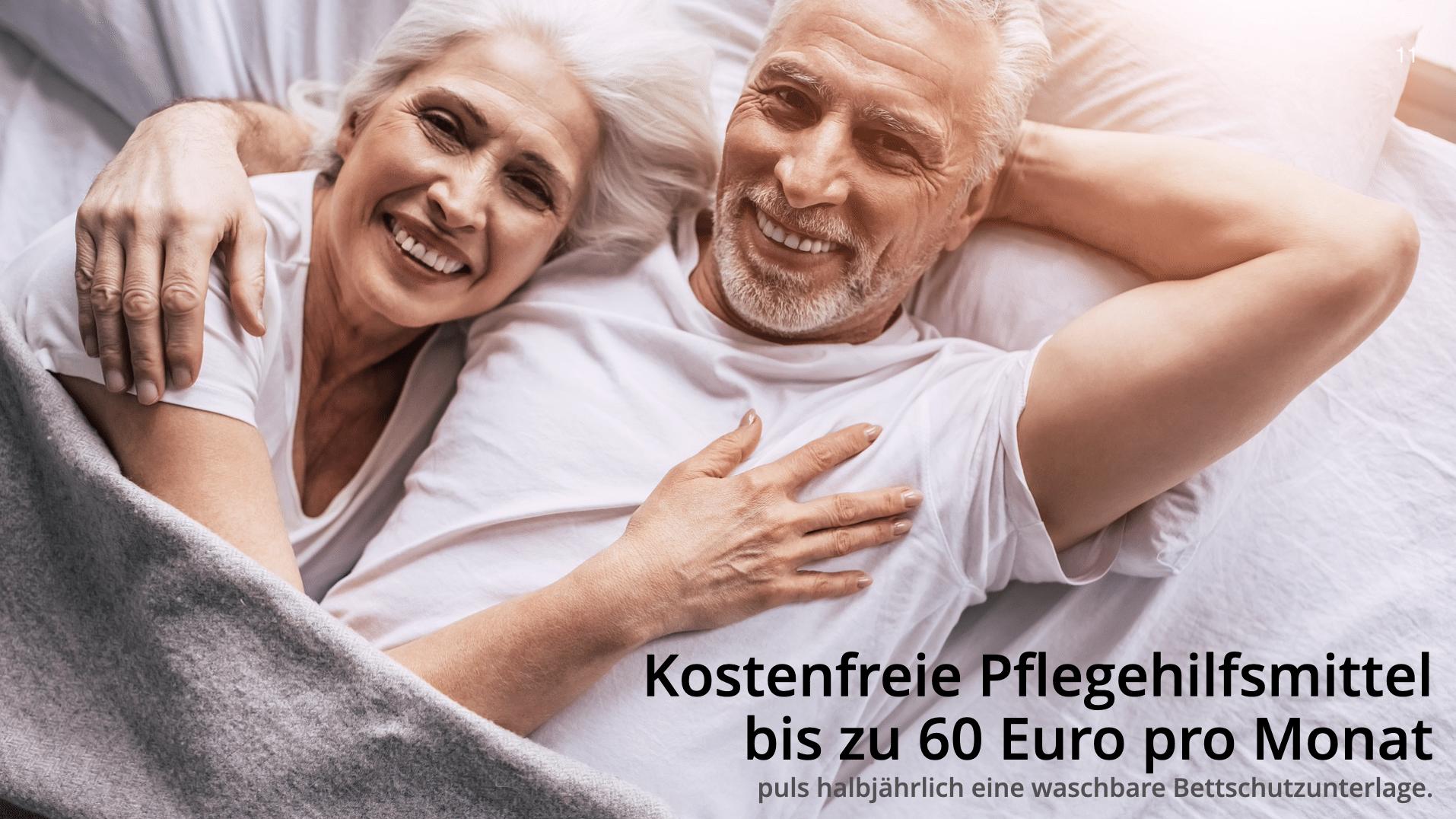 Pflegehilfsmittel 60 Euro 2021