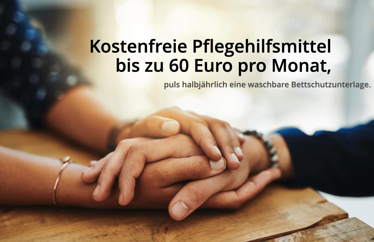 Pflegehilfsmittel 60 Euro